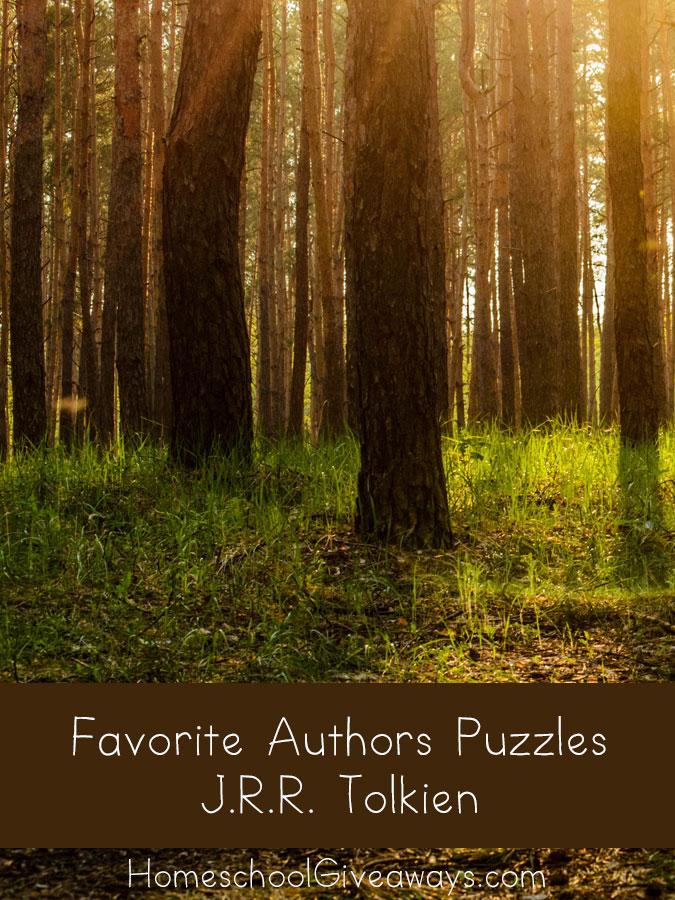 FREE Favorite Authors Puzzles-JRR Tolkien