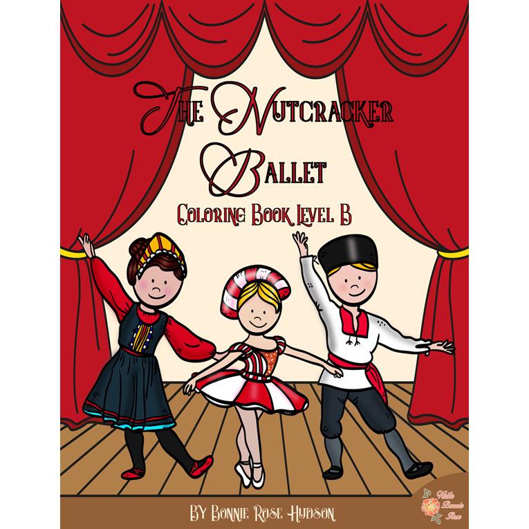 The Nutcracker Ballet Coloring Book-Level B (e-book)