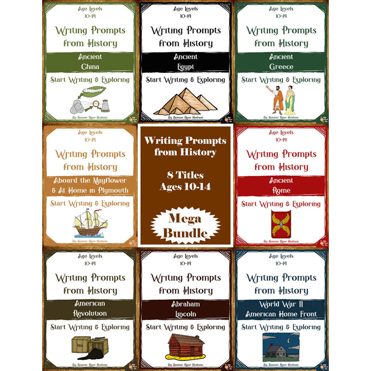 Writing-Prompts-American-and-Ancient-History-Mega-Bundle-10-14-Cover-for-WBR