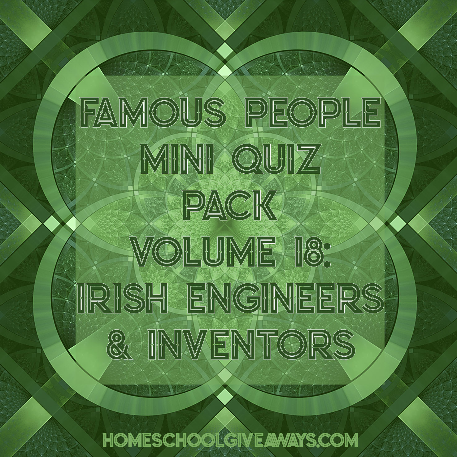 FREE Famous People Mini Quiz Pack Vol. 18 – Irish Engineers & Inventors