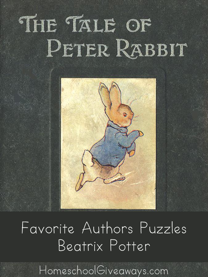 FREE Favorite Authors Puzzles-Beatrix Potter