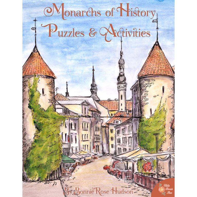 Monarchs of History: Puzzles and Quizzes (e-book)