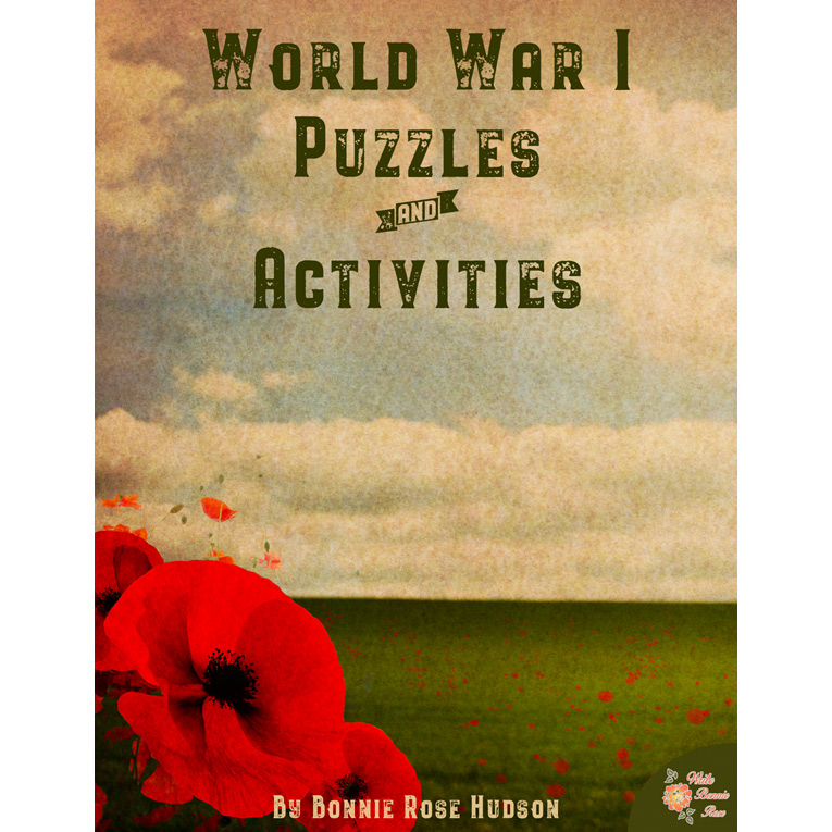 World War I: Puzzles and Activities (e-book)