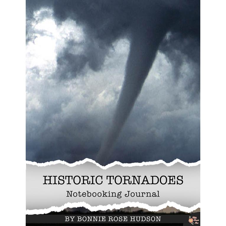 Historic Tornadoes Notebooking Journal (e-book)