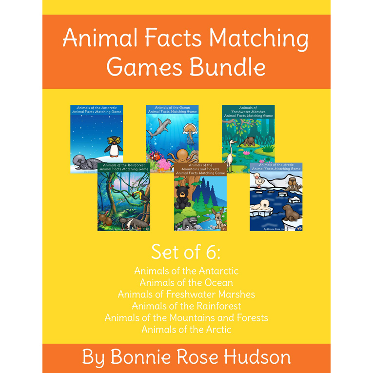 Animal-Facts-Matching-Game-Bundle-Cover-for-WBR
