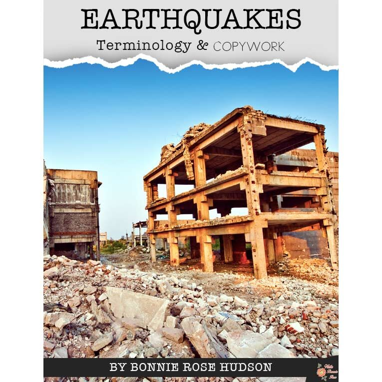 Earthquakes-Terminology-&-Copywork-WBR