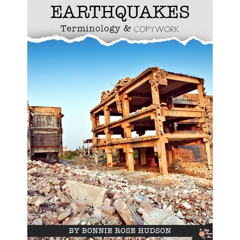 Earthquakes-Terminology-&-Copywork-WBR