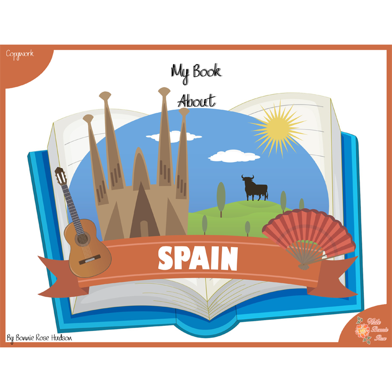 My Book About Spain Cover WBR
