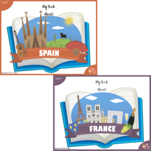 My Book About Spain and France