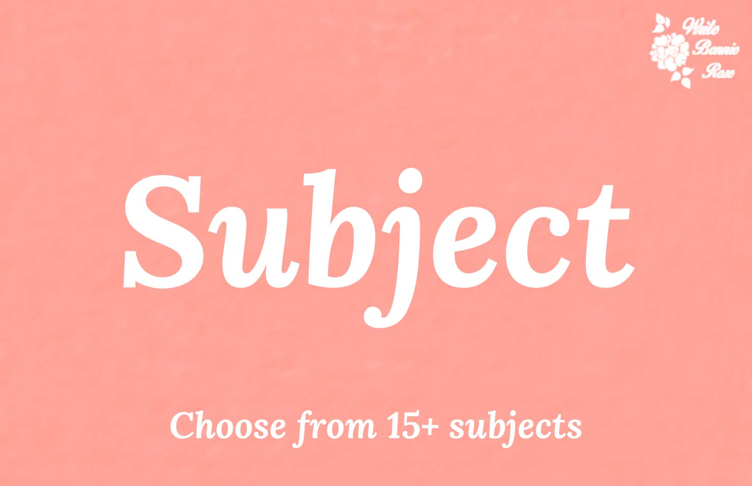 Subject